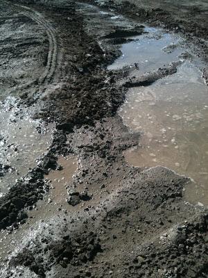 Thick mud