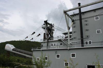 A large dredge