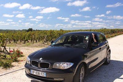 A black BMW