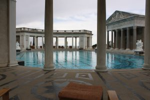 Image of the outdoor pool