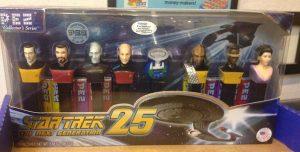 Image of Star Trek Generations PEZ set