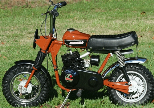 Image of a Rupp Mini Bike