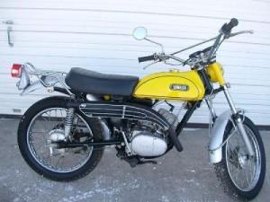 Yamaha 125 1970