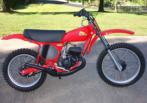 Image of a Honda Elsinore CR125M