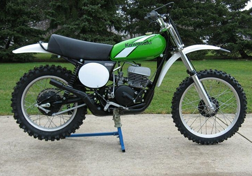 Image of a Kawasaki KX250