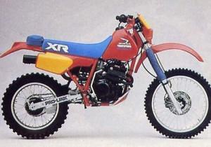 Honda XR350 1983