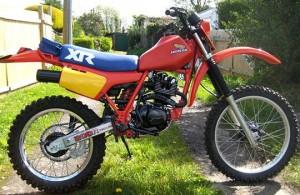 Honda XR200R 1983