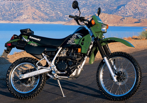 Image of a Kawasaki KLR250