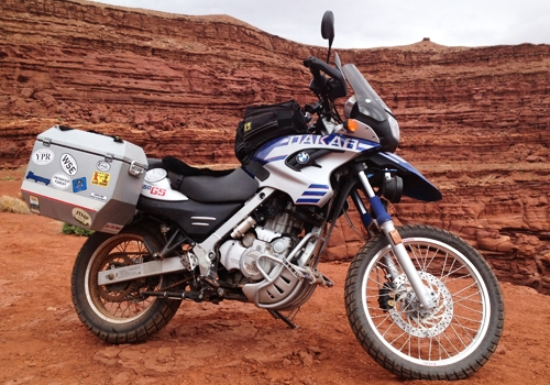Image of BMW-F650GS-Dakar