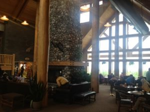 Image of the Lobby of the Talkeetna Alaskan Lodge