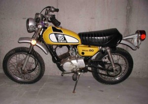 Yamaha 80 – Yellow 1970s