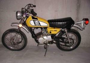 Yamaha 80 – Yellow 1970s