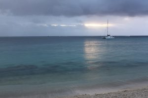 Image of a Huahine sunset