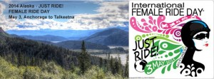 International Female Rider Day - Alaska 2014