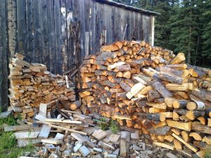 Image of a firewood pile