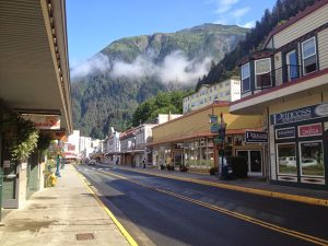 Image of the streets of Juneau