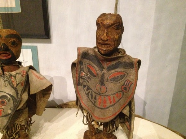 Image of a wooden art figure