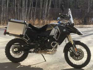 Image of a BMW GSA 800